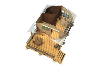 Plan 3D Victoria 30 SDB